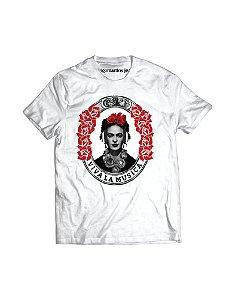 Camiseta Masculina - Frida