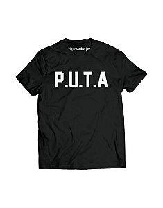 Camiseta Masculina - PUTA