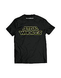 Camiseta Masculina - Star Whores