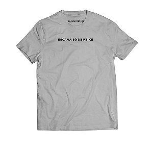 Camiseta Masculina - Escama só de peixe