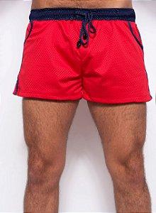 Short - Basketball Vermelho