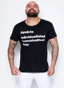 Camiseta - Signo Aquário