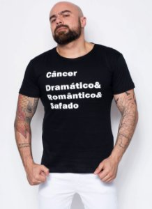 Camiseta - Signo Câncer