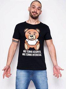 Camiseta - Tenho Interesse