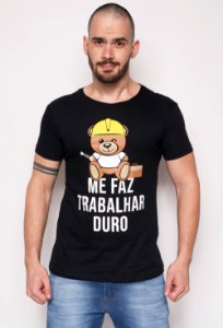 Camiseta - Trabalho Duro