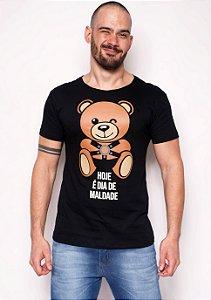 Camiseta - Dia de Maldade