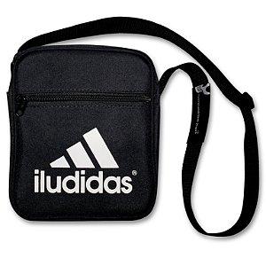 SHOULDER BAG PRETA - ILUDIDAS