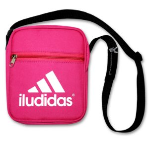 SHOULDER BAG ROSA  - ILUDIDAS