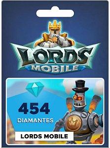 Lords Mobile - 454 Diamantes