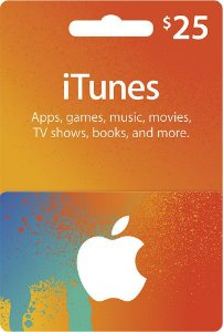 Itunes Gift Card $25 Dólares - Cartão Itunes USA