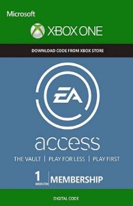 EA access 1 Mes Xbox One BR/US