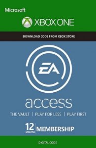 EA access 12 Meses Xbox One BR/US