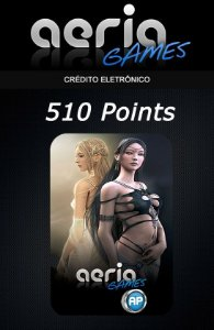 Aeria Games - 510 Aeria Points