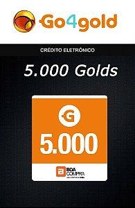 Go4Gold Boa Compra - 5.000 Créditos Gold