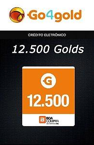 Go4Gold Boa Compra - 12.500 Créditos Gold