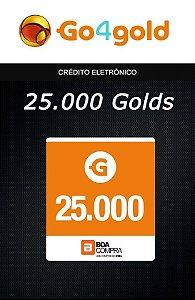Go4Gold Boa Compra - 25.000 Créditos Gold