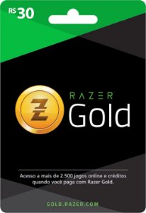 Razer Gold PIN Rixty - Cartão R$ 30