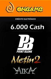 Metin 2 - 6.000 Cash