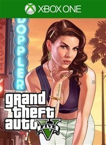GTA 5 - Xbox One - Mídia Digital