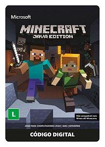 Minecraft - Cartão de ativação - PC