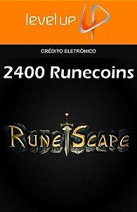 RuneScape - 2.400 Runecoins