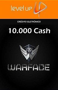 Warface - 10.000 Cash