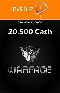 Warface - 20.500 Cash