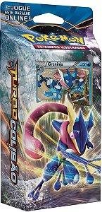 Pokemon - Deck -XY9 Turbo Colisão - Retalhador de Ondas (Greninja)
