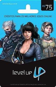 Level Up - Cartão Pré-Pago R$75,00