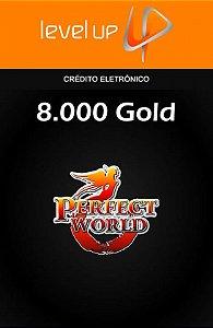 Perfect World - 8.000 Gold