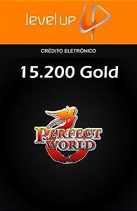 Perfect World - 15.200 Gold