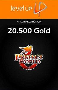 Perfect World - 20.500 Gold