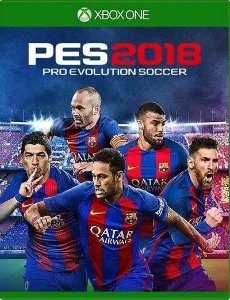 Pes 2018 (Pro Evolution Soccer 18) - Xbox One - Mídia Digital
