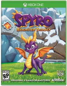 Spyro Reignited Trilogy - Xbox One - Mídia Digital