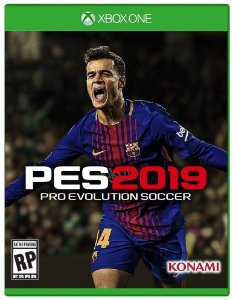 PES 2019 (Pro Evolution Soccer 19)   - Xbox One - Mídia Digital