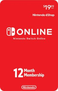 Nintendo Switch Online - Assinatura 12 meses USA
