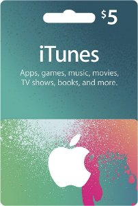 Itunes - Cartão App Store $ 5 Dólares USA