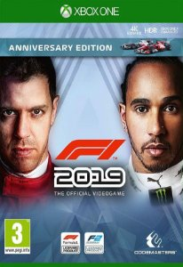 Formula 1 F1 2019 Anniversary Edition - Xbox One - Mídia Digital