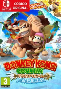 Donkey Kong Country: Tropical Freeze - Nintendo Switch Digital