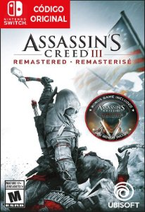 Assassins Creed III: Remastered - Nintendo Switch Digital