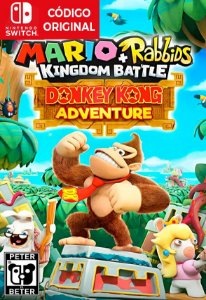 Mario + Rabbids Kingdom Battle: Donkey Kong Adventure DLC - Nintendo Switch Digital
