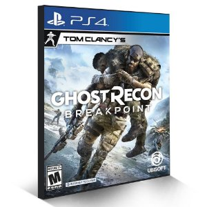 Tom Clancy's Ghost Recon Breakpoint - PS4 - Mídia Digital
