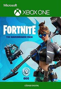 Fortnite : Pacote Quebra Mar - Xbox One - Código de 25 Dígitos
