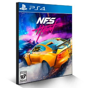 Need for Speed Heat - PS4 - Mídia Digital