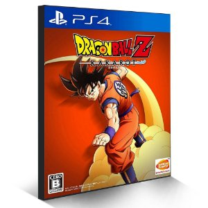 Dragon Ball Z: Kakarot - PS4 - Mídia Digital