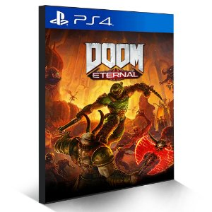 DOOM Eternal - PS4 - Mídia Digital