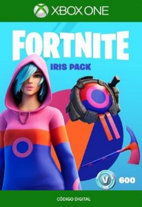 Fortnite : Pacote Íris - Xbox One - Código de 25 Dígitos