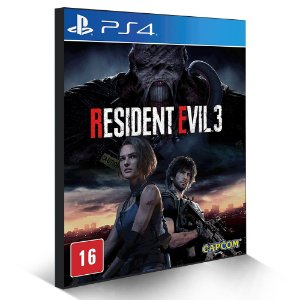 Resident Evil 3 - PS4 - Mídia Digital