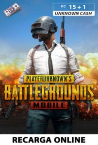 PUBG Mobile - Unknown Cash - 15 +1 UC