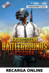 PUBG Mobile - Unknown Cash - 3000 + 1000 UC